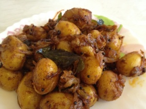 Baby potato masala