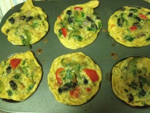 Mini broccoli frittata
