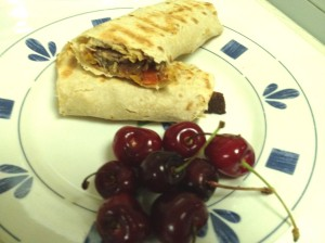 Beef steak wrap 2