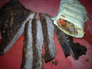 Beef steak wrap 4