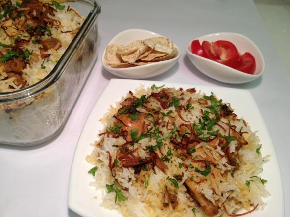 Chicken Biryani 2