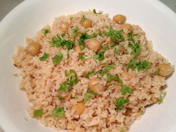 Chickpea Rice 1