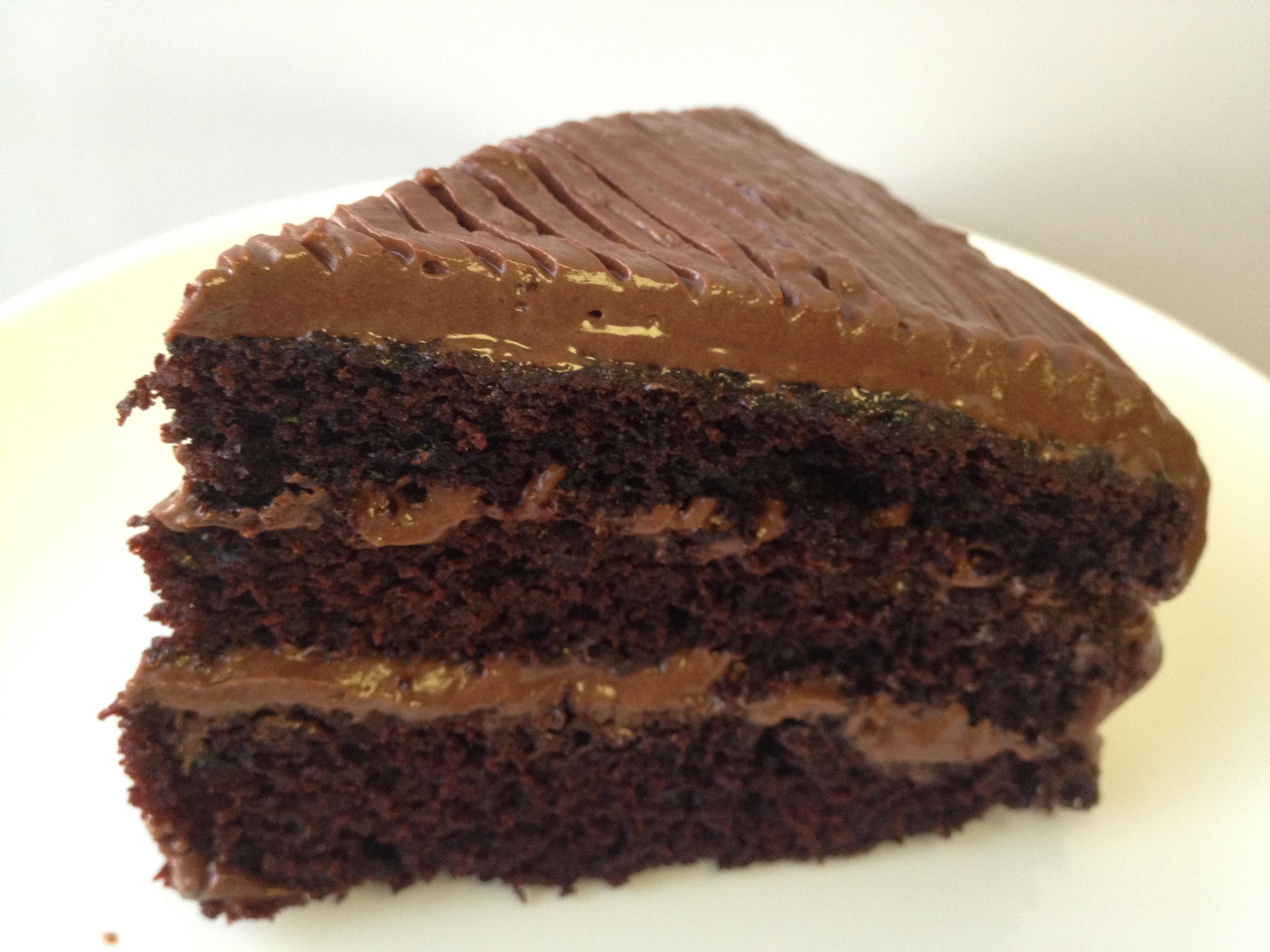 Runny Chocolate Cake Mix