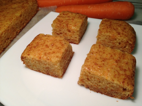 Eggless Carrot Cake 1