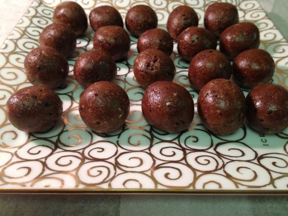No bake date balls 1