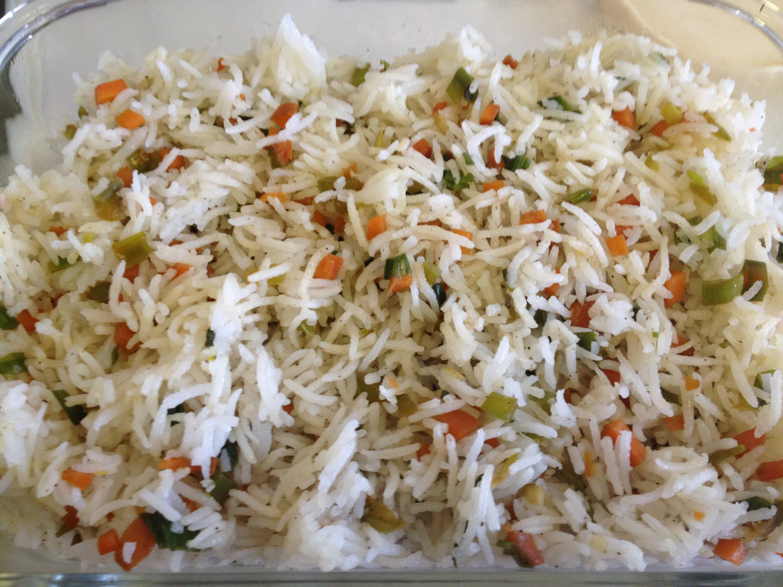 Quick vegetable fried rice easy cooking n baking quick vegetable fried rice 1 ccuart Image collections