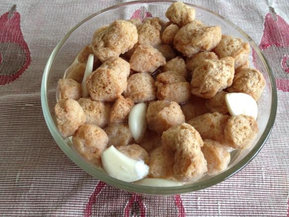 Soya Nugget Egg Burji 3