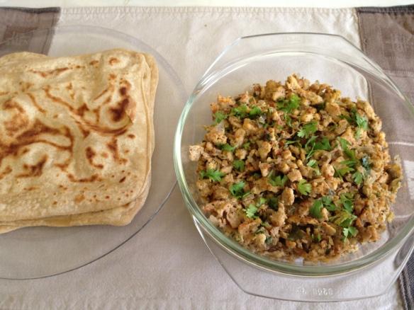 Soya Nugget Egg Burji