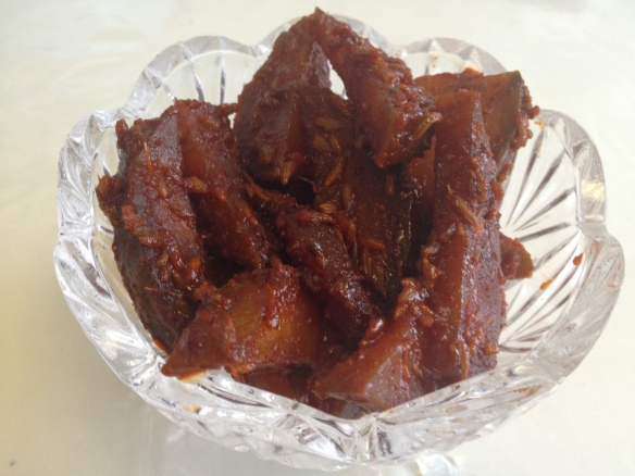 Sweet Mango Pickle 2