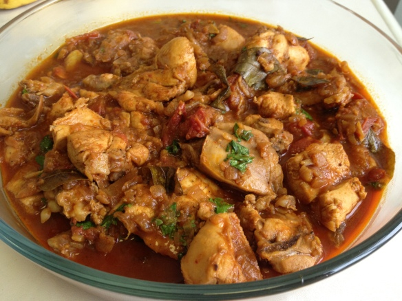 Chicken masala 1
