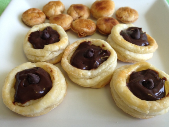 Chocolate Vol au Vent