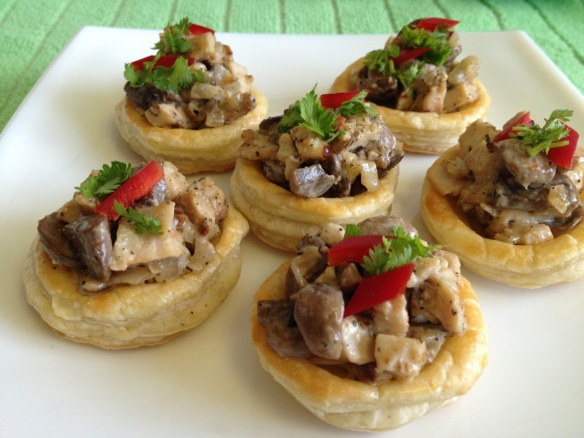 Mushroom Chicken Vol au Vent 4