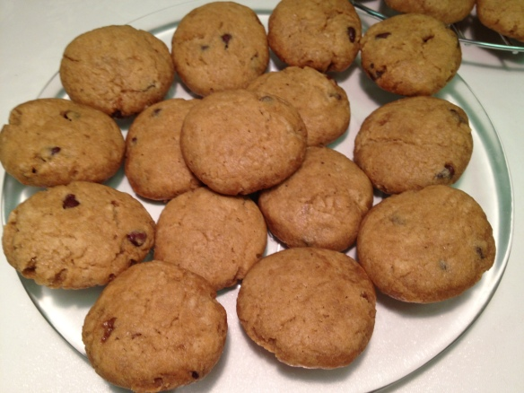 Sweet Potato Cookies with Coconut Oil 1