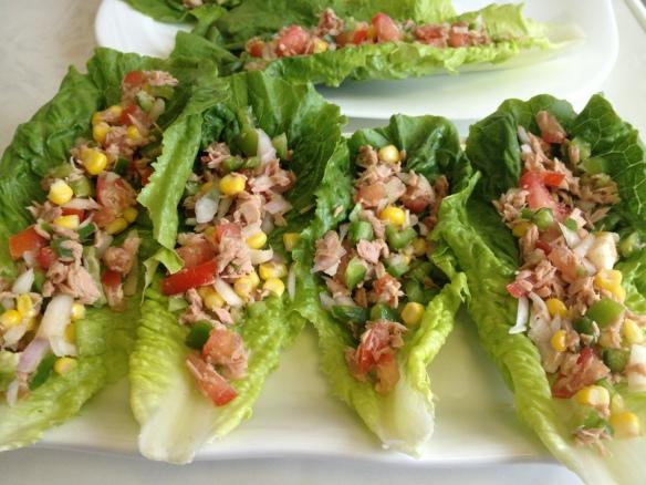 Tuna Salad in Lettuce