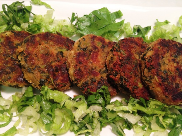 Cheera Cutlets (Spinach Cutlets)