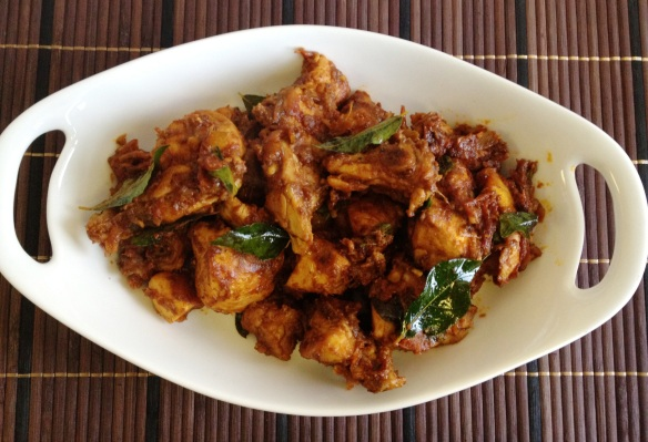 Chicken Varatiyathu