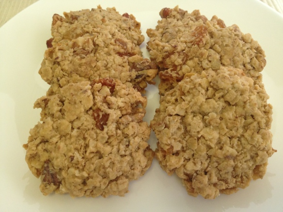 Oats Walnuts Cookies 1