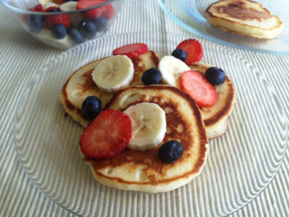 Yogurt Pancakes 1