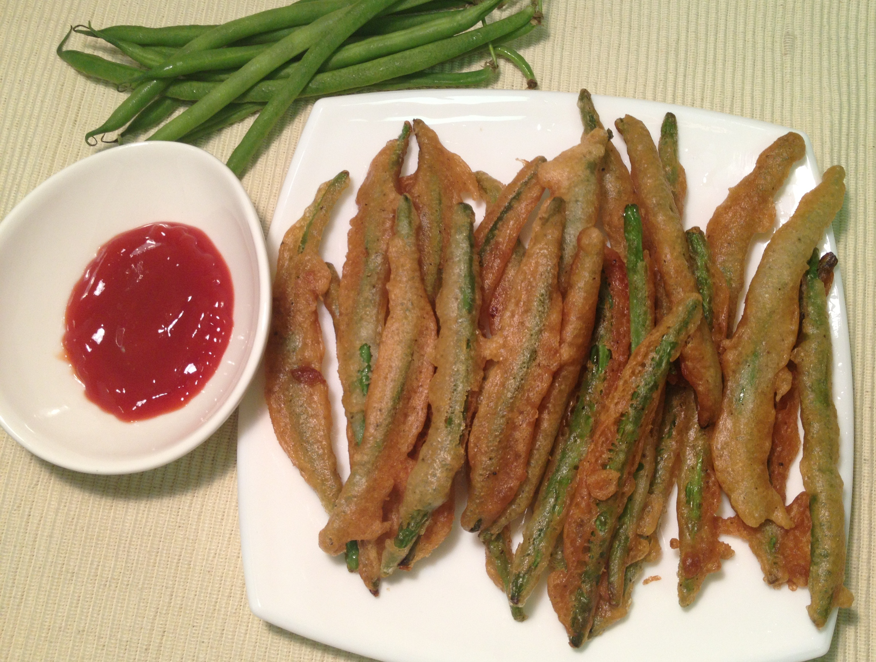 Tempura Green Beans With Tapendade Dip From 'Salty Snacks ...