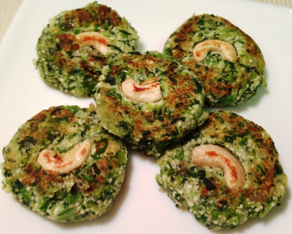 Hara Bhara Kabab/Green Kabab
