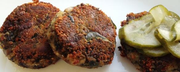 Mushroom Cutlets 2