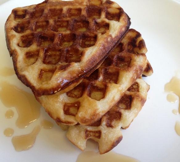 Belgian yeast waffles 1
