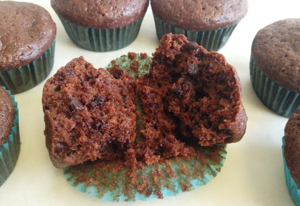 Double Chocolate Muffins 1