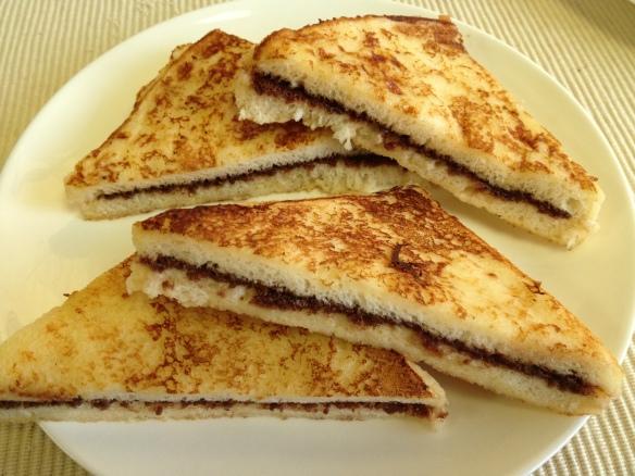 Nutella Bombay Toast