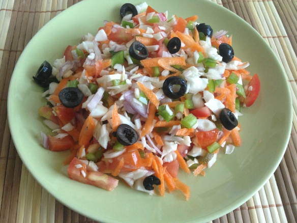 Raw Cabbage Salad
