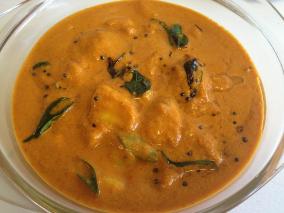 Chembu Curry (Taro/Colocasia Curry)