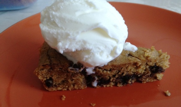 Chickpeas Oats Cookie dough pie
