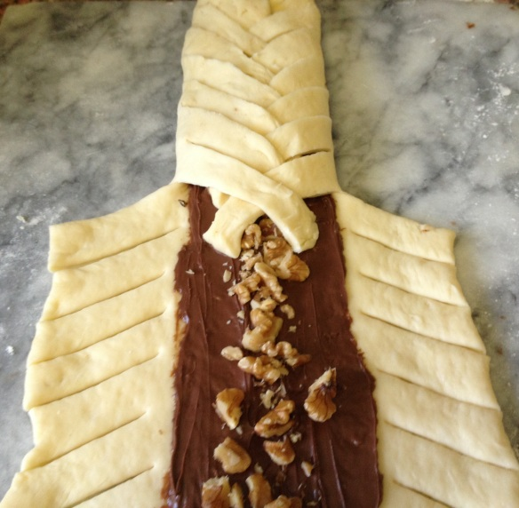 Nutella Braid Loaf 5