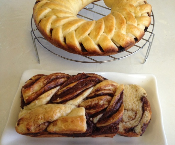 Nutella Braid Loaf 7