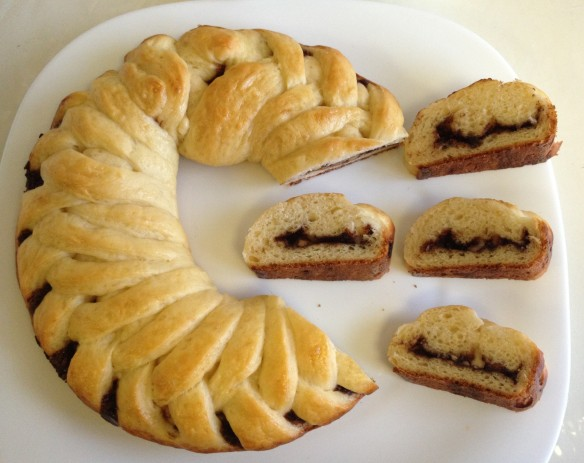 Nutella Braid Loaf 8