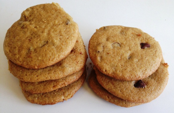 Chocolate Chip Cookies with Olive Oil 1