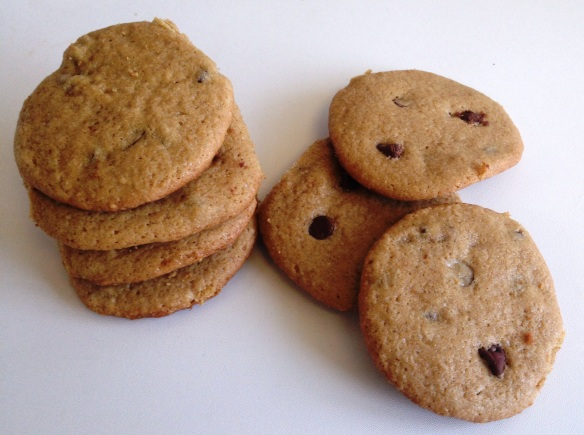 Chocolate Chip Cookies with Olive Oil