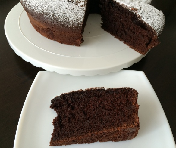 Blender Chocolate Cake
