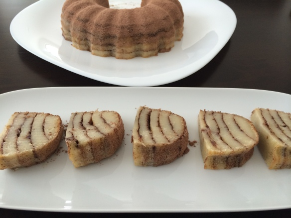 Cinnamon layer cake 1