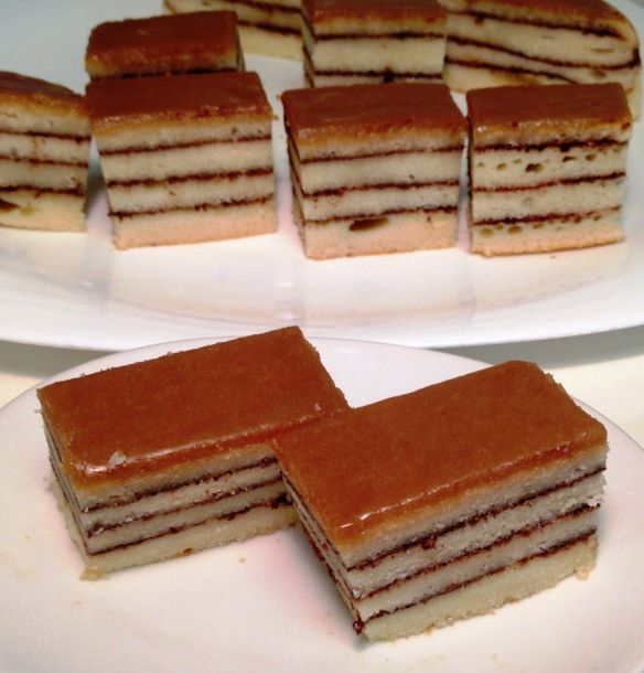 Cinnamon layer cake