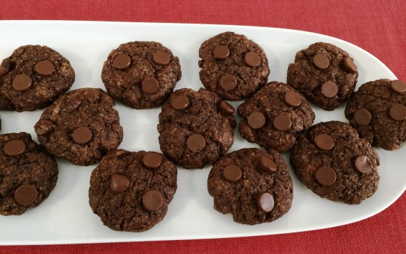 Eggless Chocolate Brownie Cookie 1