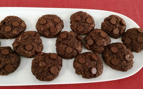 Eggless Chocolate Brownie Cookie 1