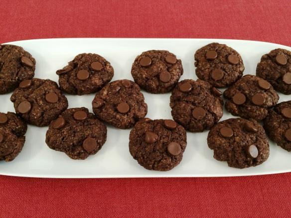 Eggless Chocolate Brownie Cookie