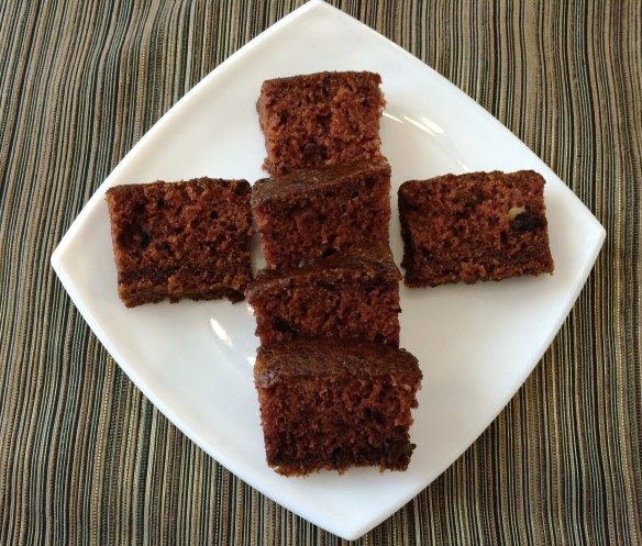 Eggless Dates Cake 1