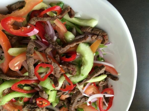 Thai Beef Salad 1