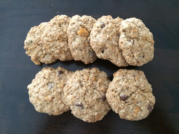 Oats and Cornflakes Cookies
