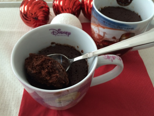 eggless chocolate mug cake 1