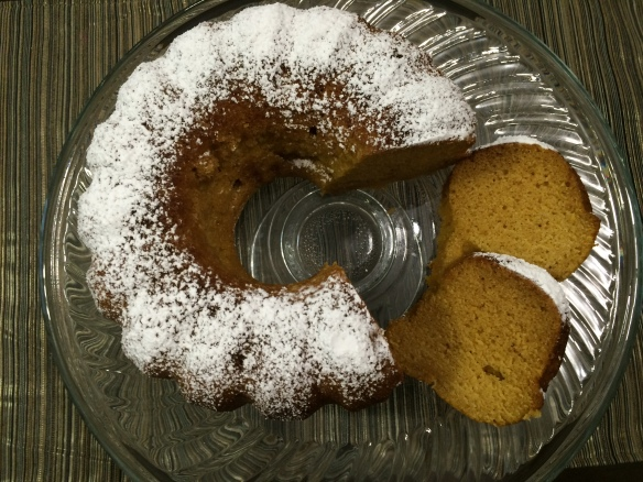 Pumpking Bundt cake 1