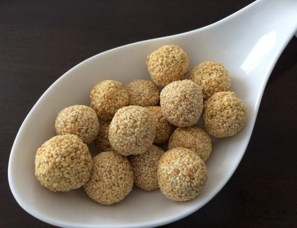Sesame balls 1