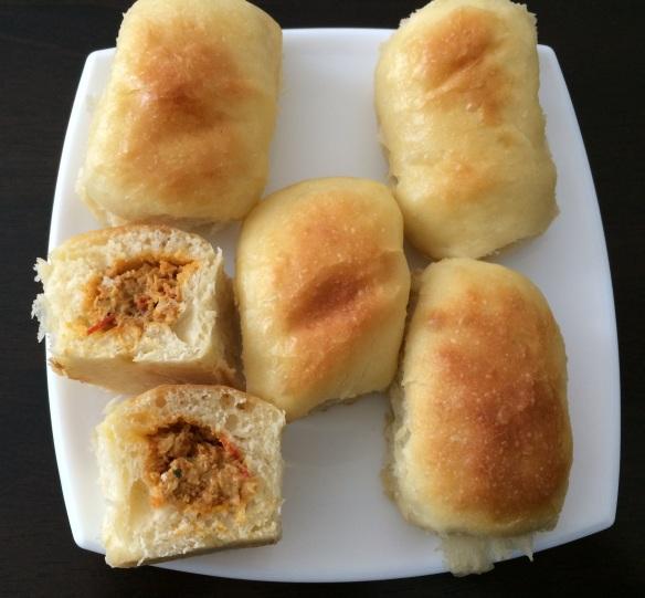 Stuffed Buns Tangzhong 2