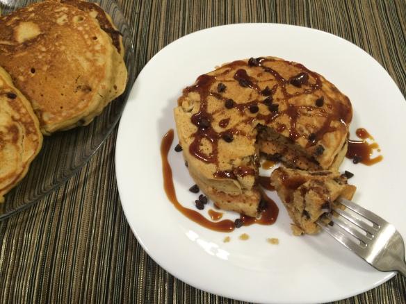 Oats Peanut Butter Pancake